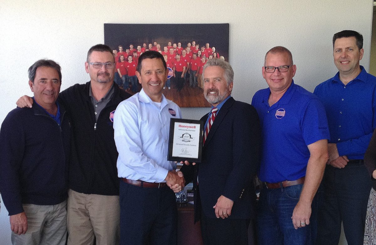 Advanced Security Systems Awarded Honeywell Platinum Authorized Dealer Status