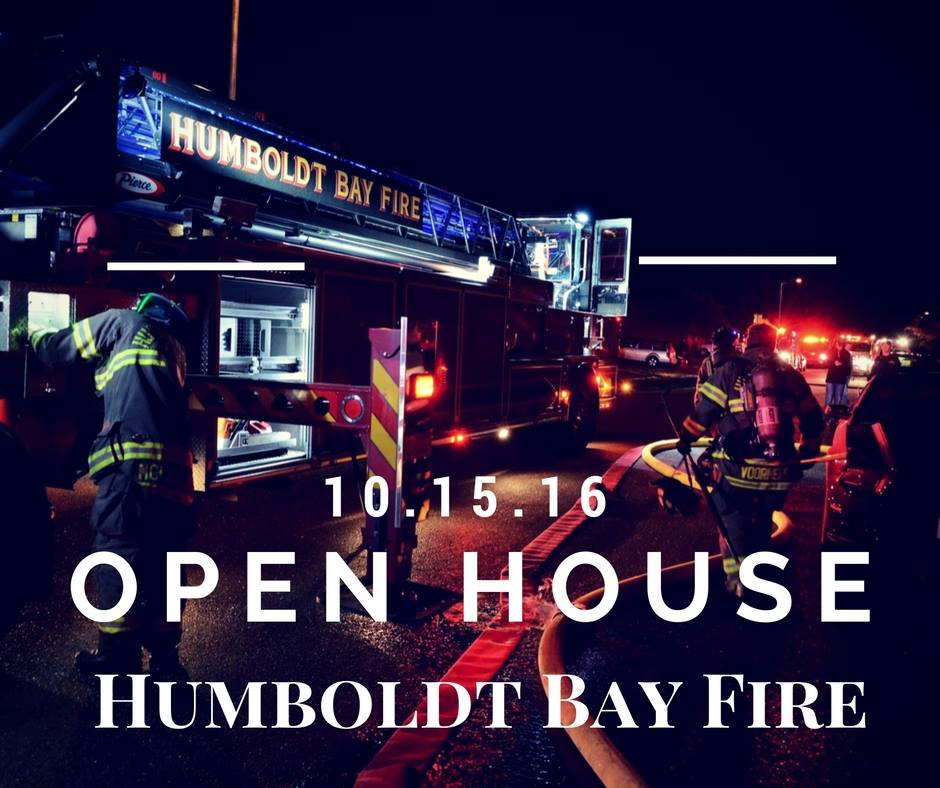 Humboldt Bay Fire Open House