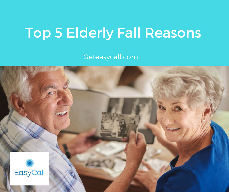 Top 5 Elderly Fall Reasons