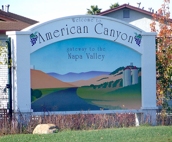 American Canyon Gateway Sign