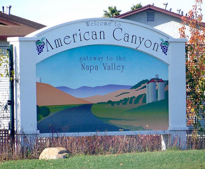 American Canyon Gateway Sign