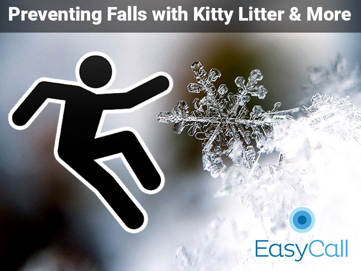 Avoiding Falls with Kitty Litter and Other Winter Safety Tips