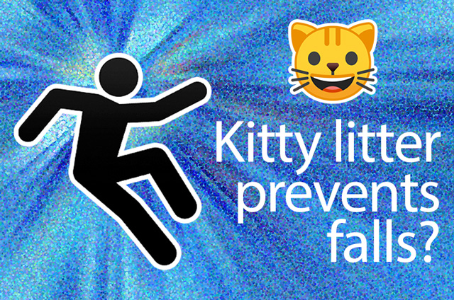 [EasyCall] Can Kitty Litter Prevent Falls?