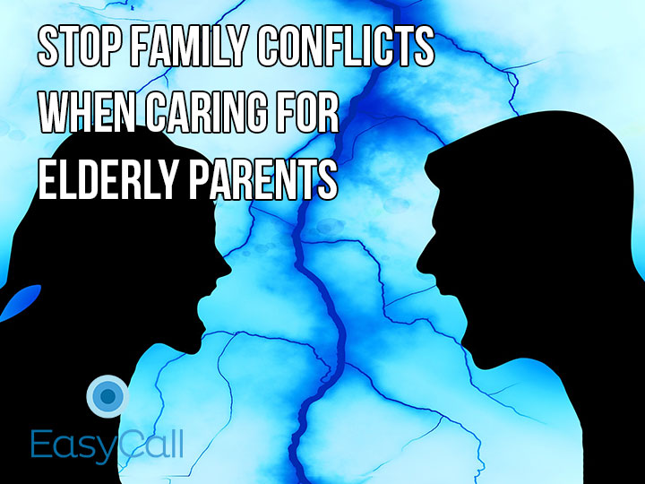 Avoiding Family Conflicts When Caring for Elderly Parents