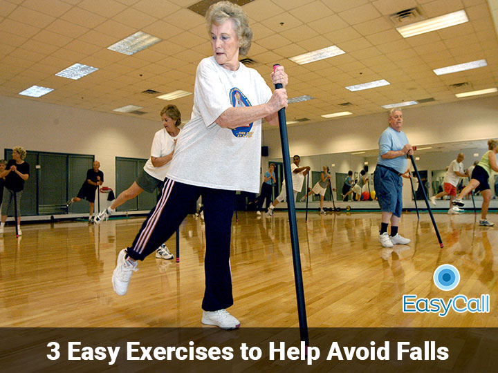 3 Simple Exercises to Help Avoid Falls
