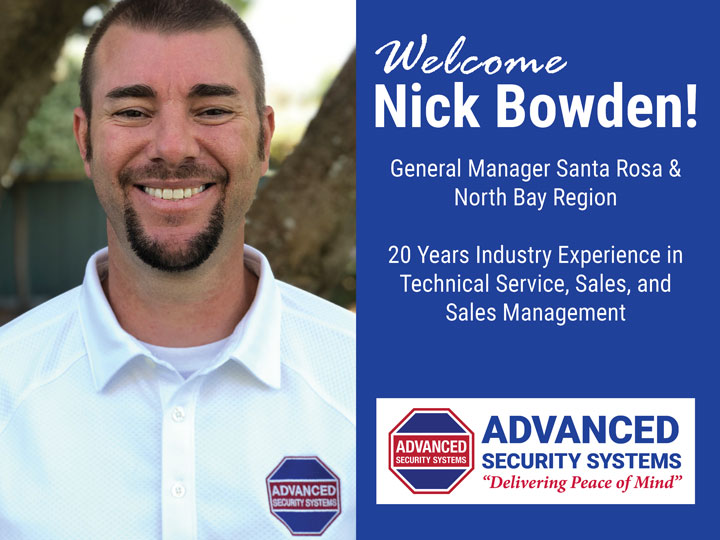 Advanced Security Taps 20-Year Industry Veteran to Lead Santa Rosa Office
