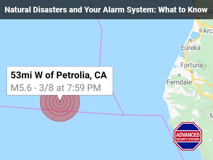 Natural Disasters and Your Alarm System: What to Know